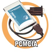 Brainboxes Laptop Serial Cards - PCMCIA.
